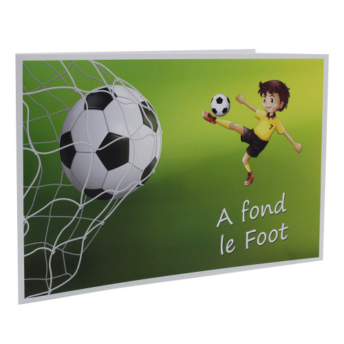 Cartonnage photo scolaire - Groupe 20x30 -18x25 - A fond le Foot