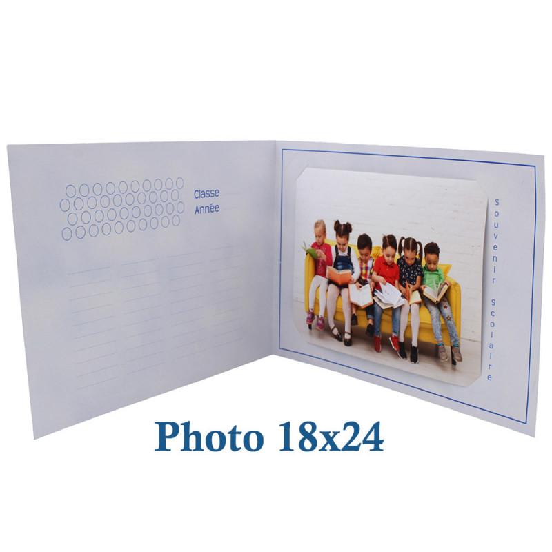 Cartonnage photo scolaire - Groupe 20x30 - La chasse au trésor - photo 18x24