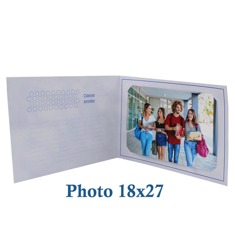 Cartonnage photo scolaire - Groupe 20x30 - La chasse au trésor - photo 18x27