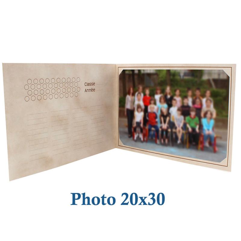 Cartonnage photo scolaire - Groupe 20x30 - La chasse au trésor - photo 20x30