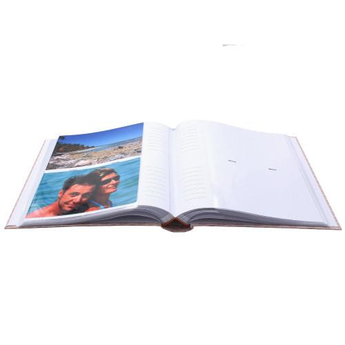 LOT 2 ALBUMS PHOTO VEGETAL 200 POCHETTES 13x18 ouvert