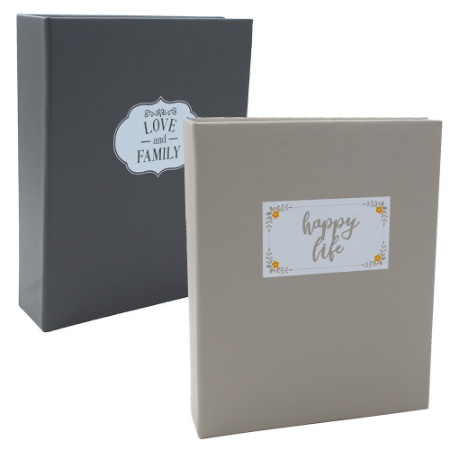 Lot de 2 albums photo Dual 200 pochettes 10x15
