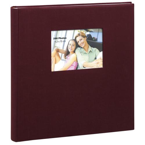 Album à pochettes Erica Square pour 500 photos 11.5x15