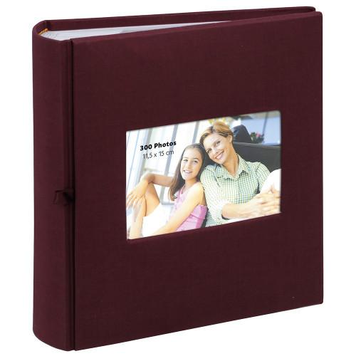 album-photo-erica-square-300-pochettes-11,5x15-bordeaux