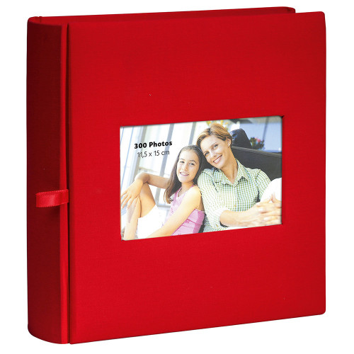album-photo-erica-square-300-pochettes-11,5x15-rouge