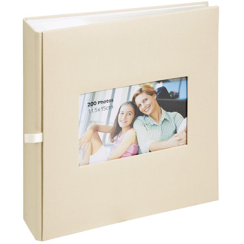 album-photo-erica-square-200-pochettes-11,5x15-beige