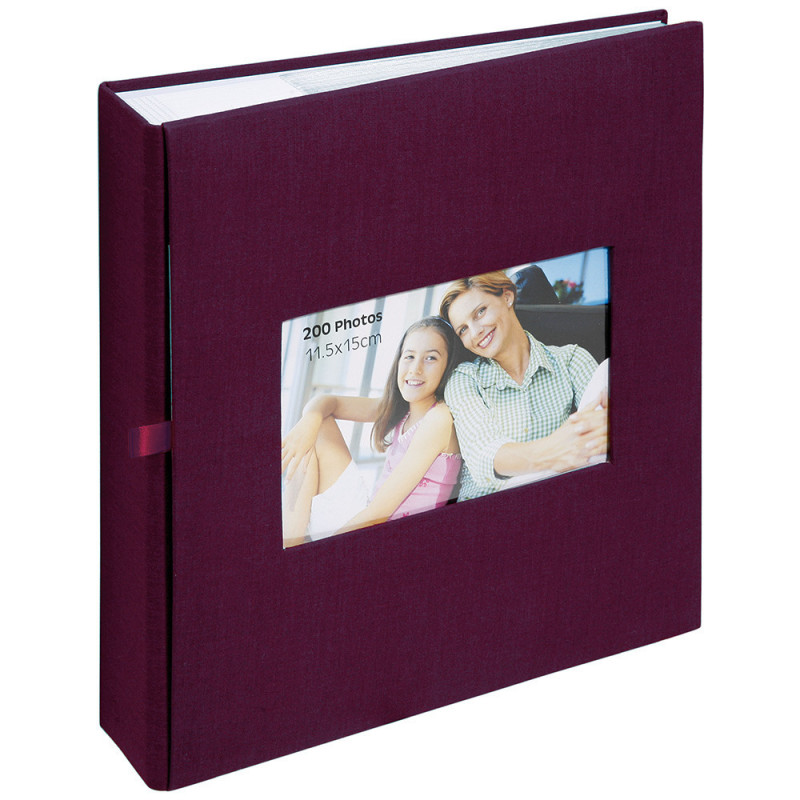 album-photo-erica-square-200-pochettes-11,5x15-bordeaux