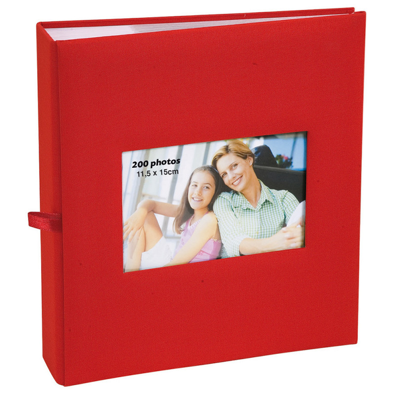 album-photo-erica-square-200-pochettes-11,5x15-rouge