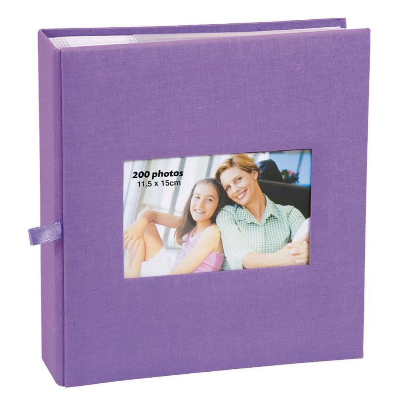 album-photo-erica-square-200-pochettes-11,5x15-violet