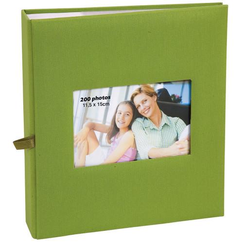 Album à pochettes Square pour 200 photos 11.5x15