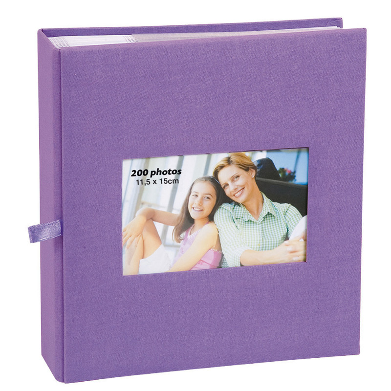lot--3-albums-photo-square-200-pochettes-11,5x15-face-violet