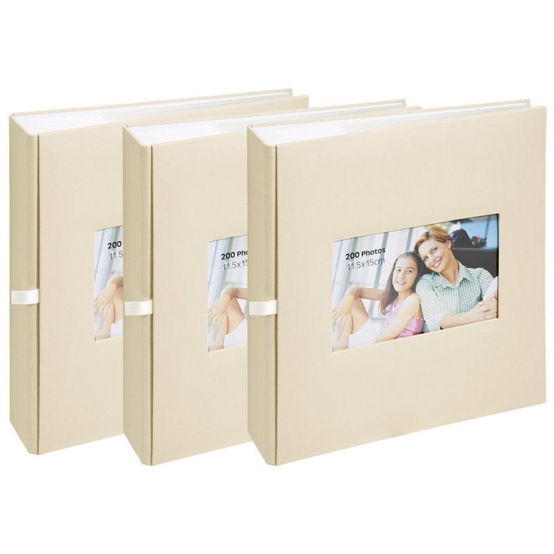 lot-3-albums-photo-square-200-pochettes-11,5x15-beige