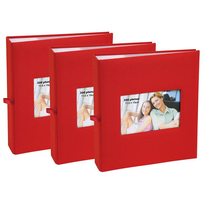 lot-3-albums-photo-square-200-pochettes-11,5x15-rouge