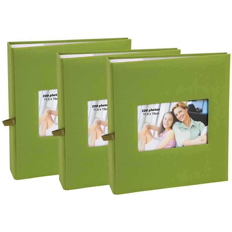 lot-3-albums-photo-square-200-pochettes-11,5x15-vert