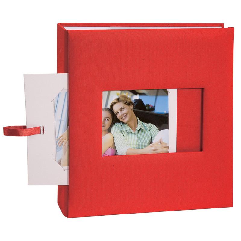 lot-3-albums-photo-square-200-pochettes-11,5x15-rouge-detail