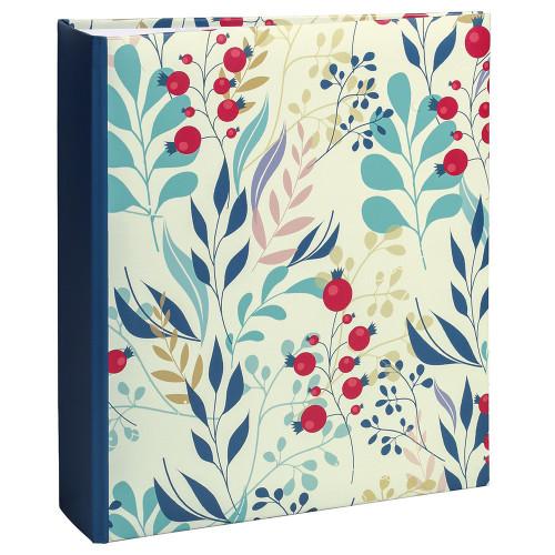 lot-3-albums-photo-flowers-2-200-pochettes-11,5x15-tranche-bleue