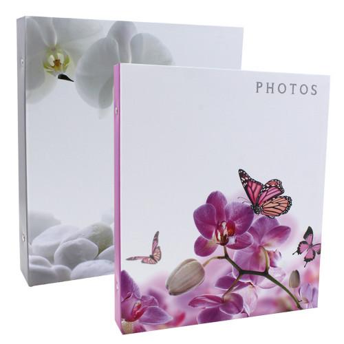 Lot de 2 classeurs photo à pochettes Symphonia pour 400 photos 11x15
