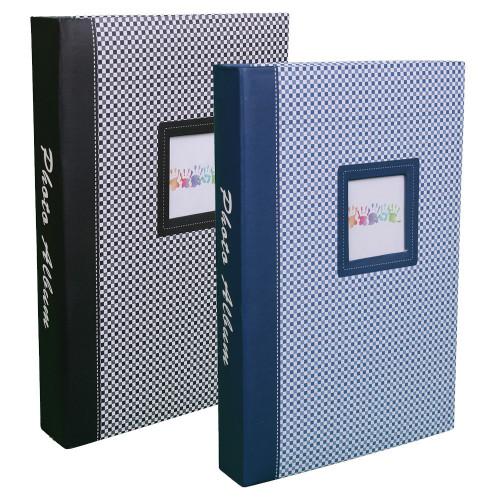 Lot 2 albums photo Elements 300 pochettes 10X15 noir bleu
