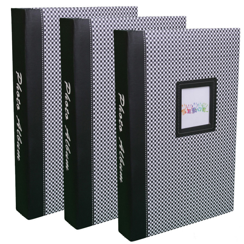 lot-3-albums-photos-elements-300-pochettes-10x15-noir
