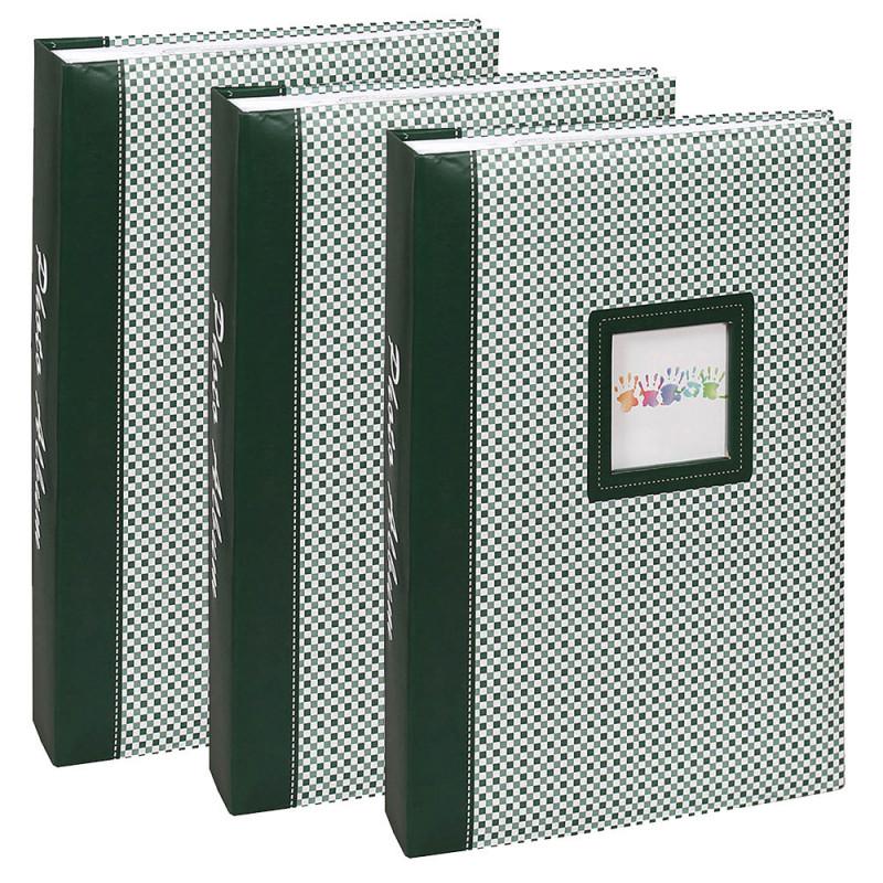 lot-3-albums-photos-elements-300-pochettes-10x15-vert