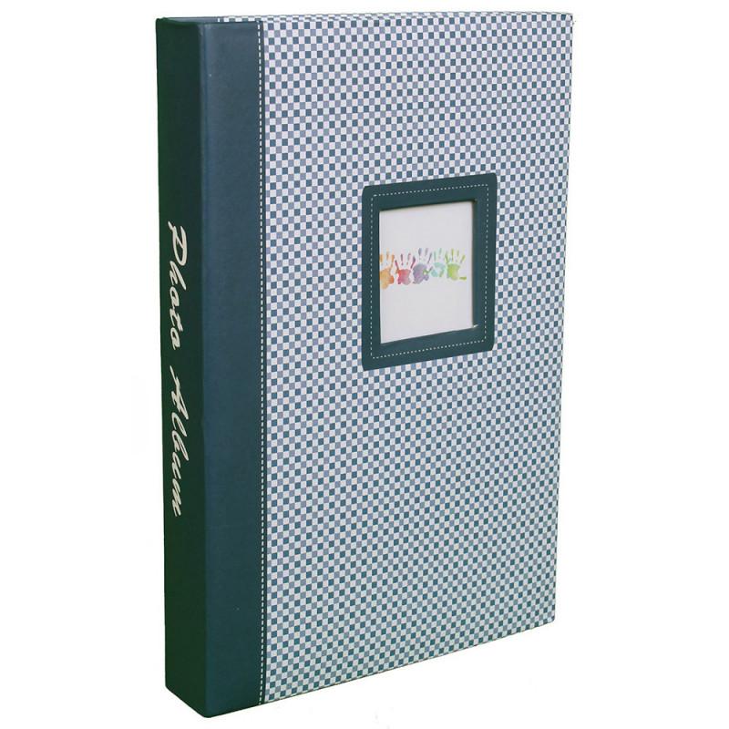 lot-3-albums-photos-elements-300-pochettes-10x15-face-bleu-vert