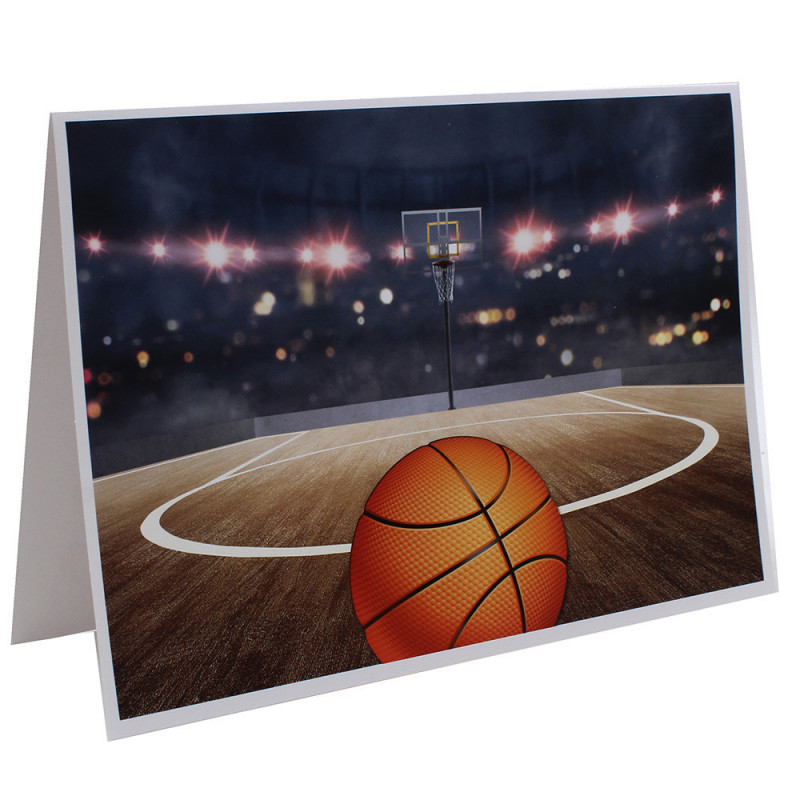 Cartonnage photo scolaire - Groupe 18x24 - Basket N1