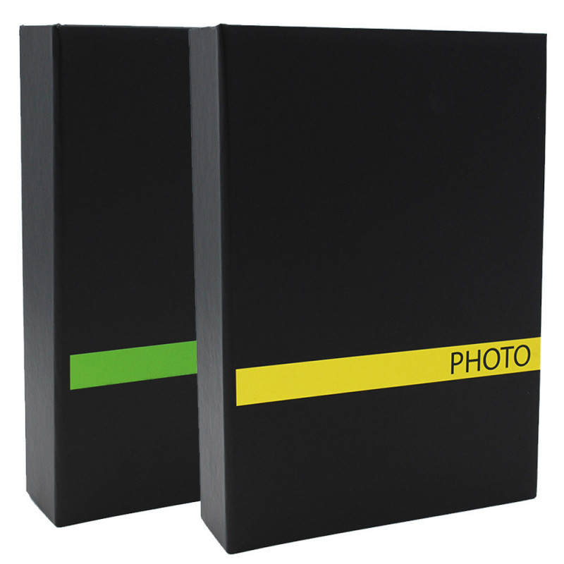 Lot 2 albums photo Sensation JV 200 pochettes 10X15