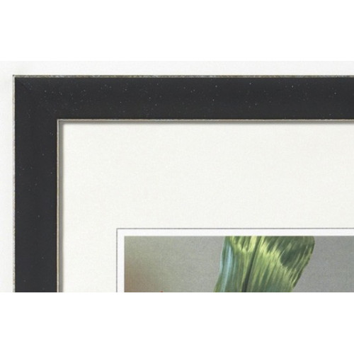 Cadre photo en bois Exclusive Gris anthracite - Walther 40x50