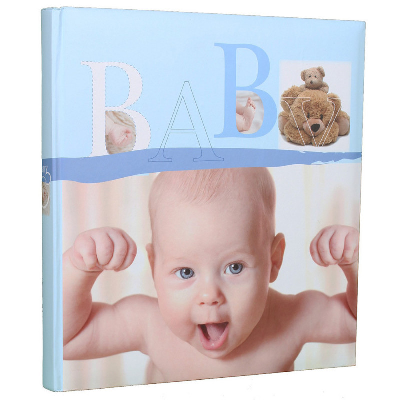 album-photo-naissance-baby-vital-traditionnel-bleu