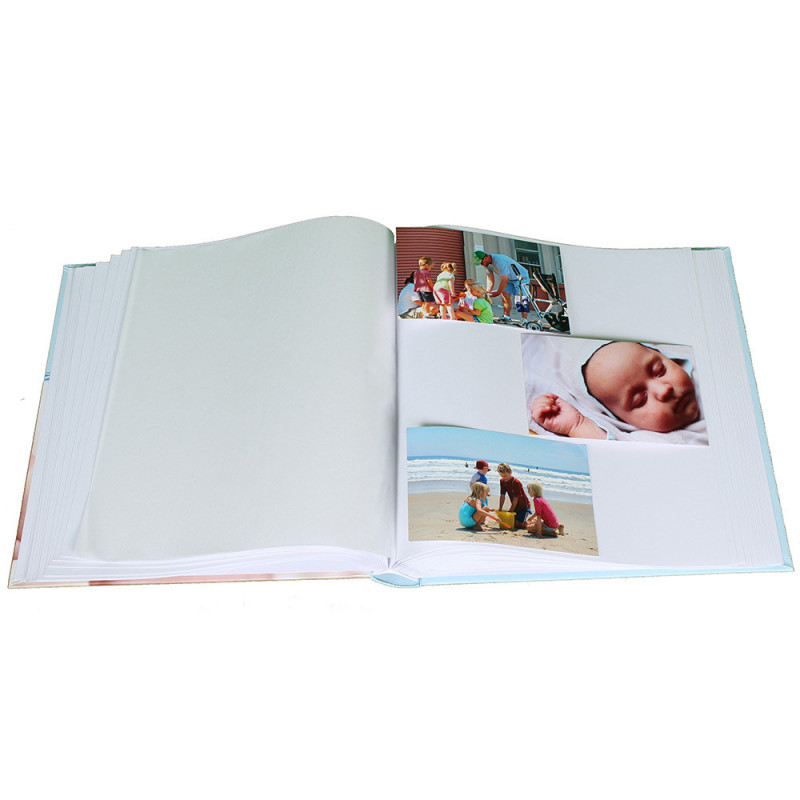 album-photo-naissance-baby-vital-traditionnel-bleu-avec-photos