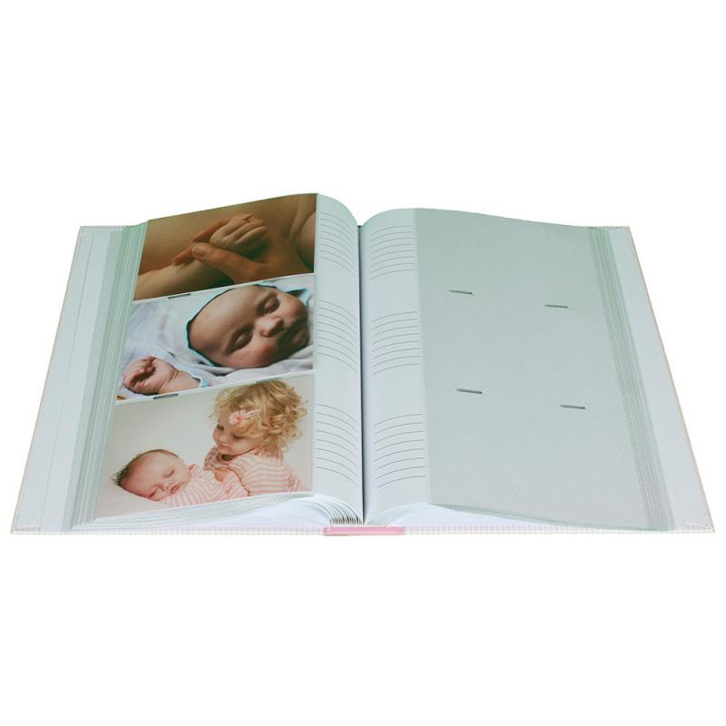 Album photo à pochettes Baby Girafe pour 300 photos 10x15-avec-photos