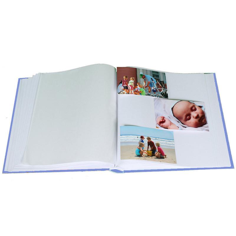 album-photo-naissance-baby-s-kiss-traditionnel-bleu-avec-photos