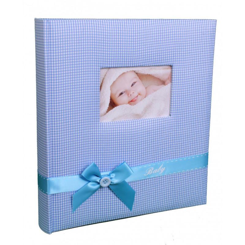 album-photo-naissance-baby-s-kiss-traditionnel-bleu