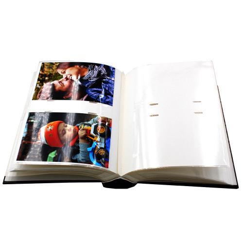 """Album photo à pochettes """"Black town""""pour 200 photos 10x15 - avec-photos"""