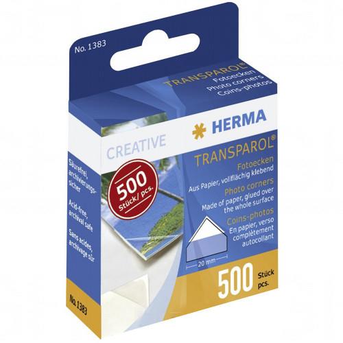 Lot de 500 coins Herma