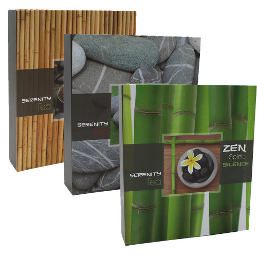 Lot de 3 albums photo CPC Zen 200 pochettes 11X15
