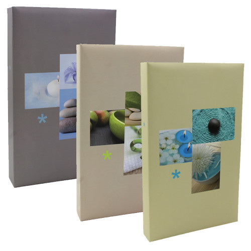 Lot de 3 albums photo Plenitude 300 pochettes 11X15