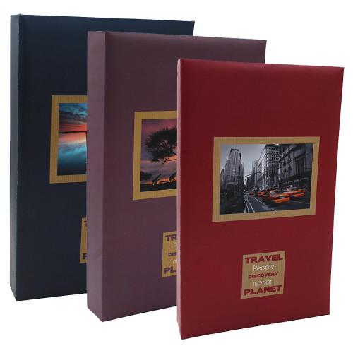 Lot de 3 albums photo Voyages 300 pochettes 11X15