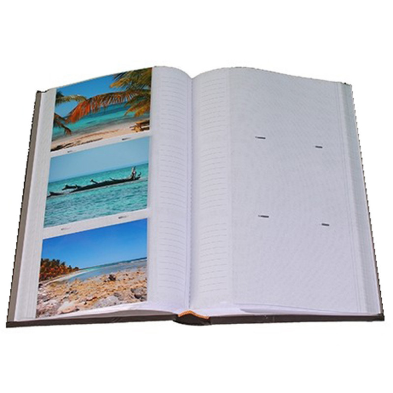 Album photo Biotiful brun 300 pochettes 11,5X15