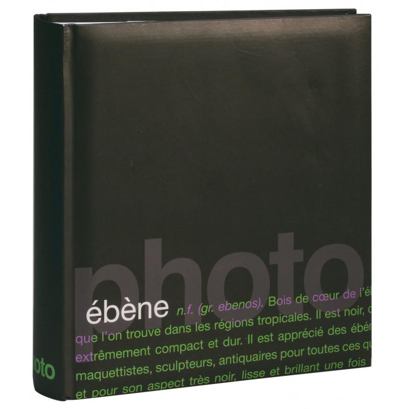 Lot de 3 albums photo Erica Words brun pour 200 photos 11.5x15