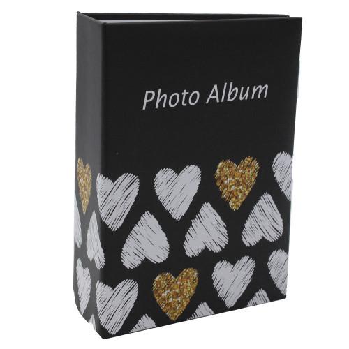 Mini album photo Golden Hearts N1à 100 pochettes 10X15