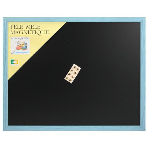 Pêle-mêle magnétique Bleu pastel 40X50