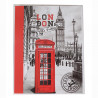 Mini album photo London 24 pochettes 13x18