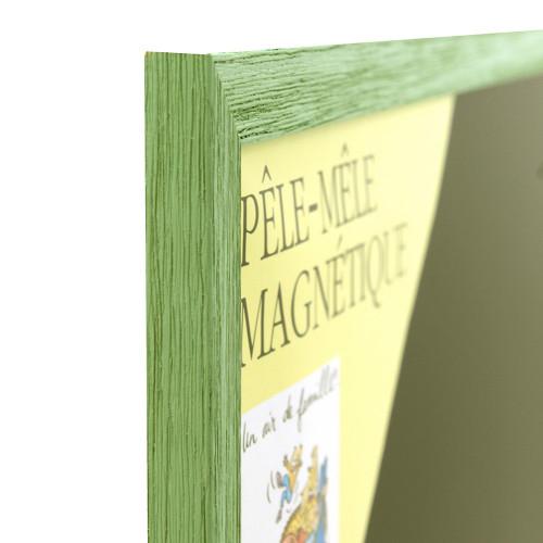 Pêle-mêle magnétique vert pastel 40X50
