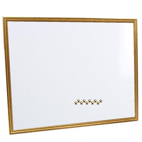 Pêle-mêle magnétique Doré 40X50 fond blanc