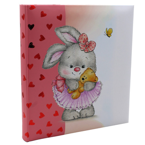 Album bébé traditionnel Gift Box Lapin