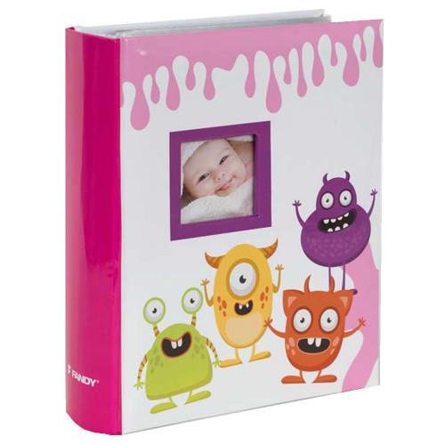 Album bébé Spookies rose 300 pochettes 10X15