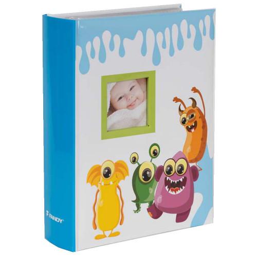 Album bébé Spookies bleu 300 pochettes 10X15