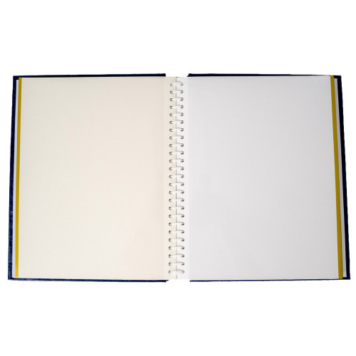 Album photo autocollant Vinyl bleu marine pour 120 photos 10x15