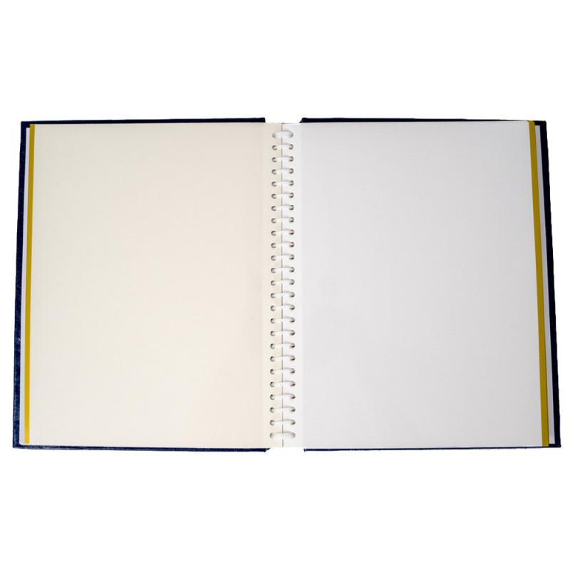 Album photo autocollant Vinyl bleu marine pour 120 photos 10x15